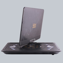 13.8-inch big screen mobile EVD Player HD portable car DVD Cars TV Game FM Card Reader 3D Ultrathin MP5 Swivel & Rechargeable