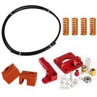 Ender 3 CR 10 MK8 upgrade Extruder kit Aluminum Bowden 1.75mm Springs PETG tube MK9 silicone Sock for Ender 3 CR10 printer parts