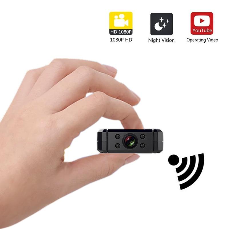 Sansnail wifi micro camera mini P2P cam IP mini camera camcorder Infrared Night Vision Motion Detection wide angle DV Mini 4K HD