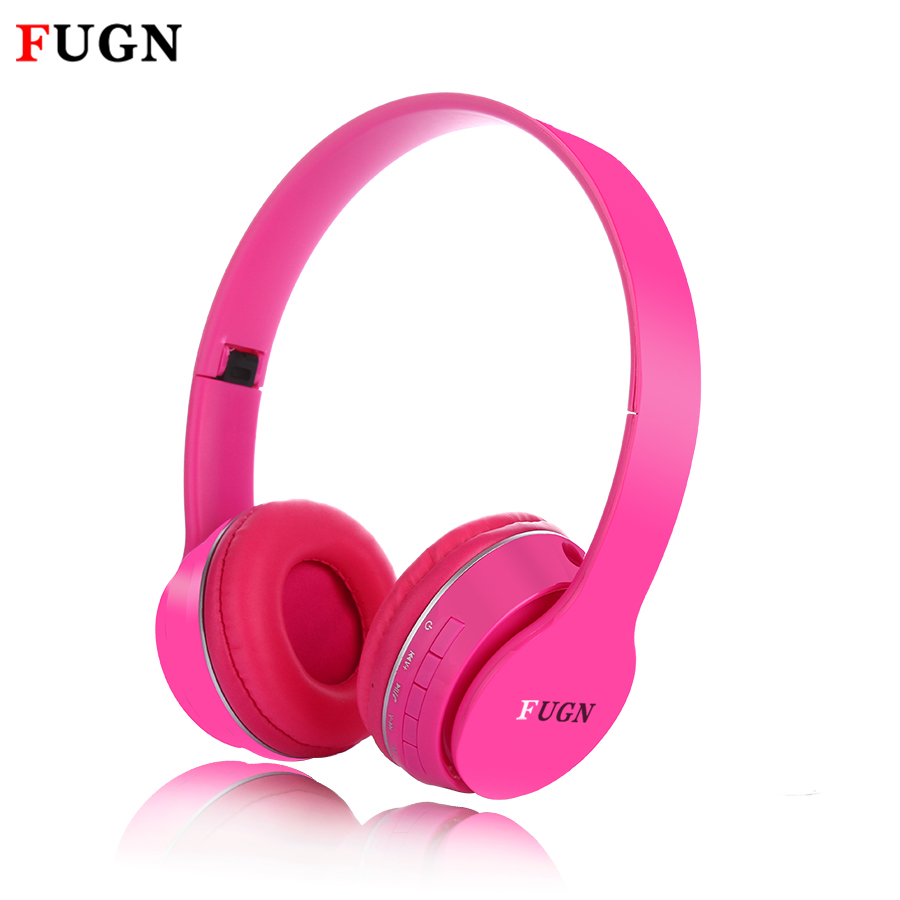 FUGN Gaming Headset Bluetooth Headphones Stereo Foldable Wireless Earphone Microphone headset bluetooth earphone Fone de ouvido
