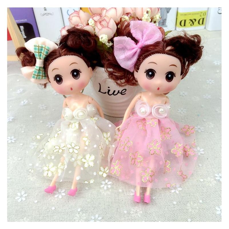18 cm confundido muñeca vestido de boda Muñecas lindo Juguetes ...