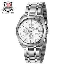 2016 BINKADA Moda Reloj de pulsera Para Hombres Mismo-viento Automático Relojes de Los Hombres Vestido de Reloj de pulsera de Alta Calidad Masculina Mecánica reloj