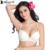 Annajolly bras mulheres sexy bandage voltar champagne plus size 3/4 xícara de sutiã sem costura cueca 2017 nova moda lingerie 8709