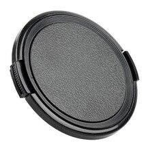10 개/몫 49 52 55 58 62 67 72 77 82 86 95 105mm 카메라 렌즈 캡 보호 커버 렌즈 캡 canon nikon DSLR 렌즈