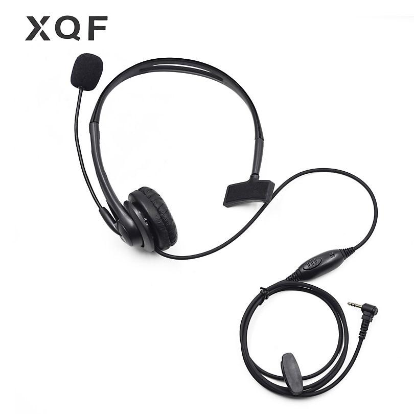 Tactical VOX PTT Throat Mic Headset Earpiece for Motorola Talkabout 2.5mm Radio