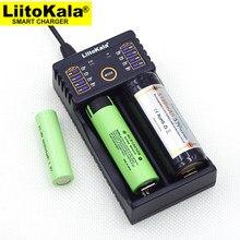 Liitokala Lii-202 100b carregador de bateria, carregando 18650 1.2 v 3.7 v 3.2 v aa/aaa 26650 10440 16340 25500 bateria de lítio nimh