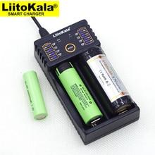 Liitokala Lii 202 100b carregador de bateria, carregando 18650 1.2 v 3.7 v 3.2 v aa/aaa 26650 10440 16340 25500 bateria de lítio nimh
