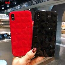 3D Diamond Texture Case For iPhone 6 6s