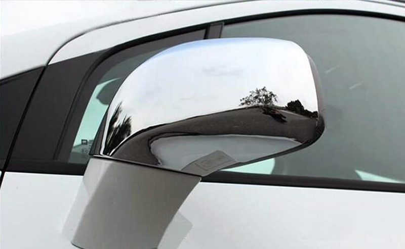 For Opel Vauxhall Mokka Buick Encore 2013 2017 4pcs Chrome Side Door Rearview font b Mirror