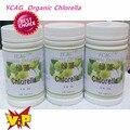 Frete Grátis 3 pacote naturais comprimidos Chlorella Vulgaris rica de clorofila, proteína