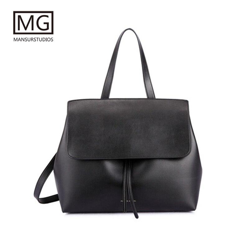 Mansurstudios Women Split Leather Lady Bag  ,mansur Lady Fashion Leather  Shoulder Bags, Gavriel Lady Tote Bag,free Shipping