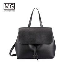 Mansurstudios Women Split leather lady Bag  ,mansur fashion shoulder Bags, gavriel tote bag,free shipping
