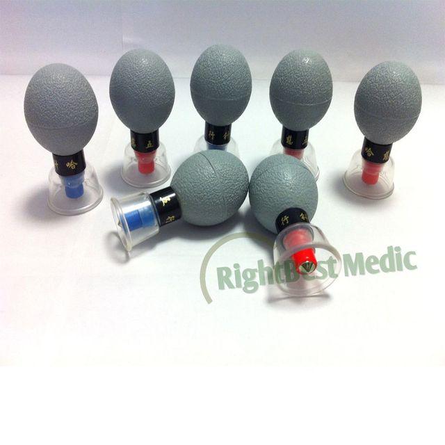 English & Russian User Manual/HACI Magnetic Suction Cupping Set – 18 Cups,HACI Wu Xing Zhen (Classic 18 Cups)
