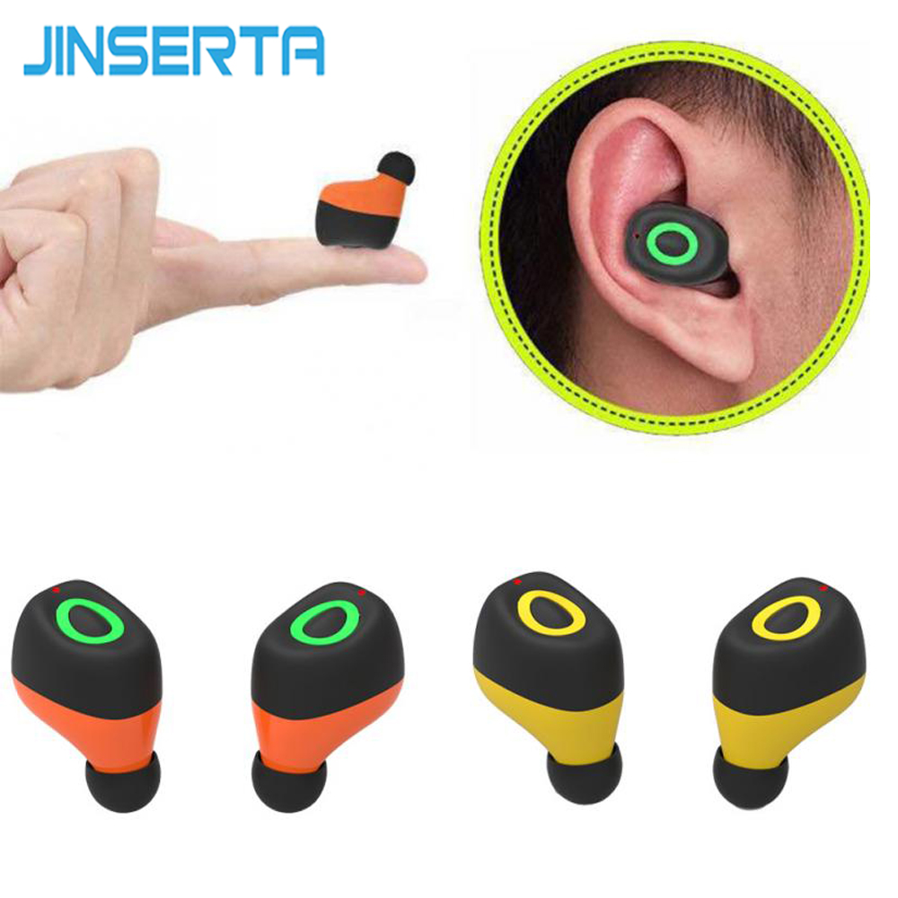 Mini Portable Bluetooth Earphone TWS Ture Wireless Earbuds Bluetooth 4.2 Stereo Earphones for iPhone Xiaomi Universal Headsets dacom bluetooth earphone mini wireless stereo headset tws ture wireless earbuds charging box for iphone xiaomi android phone