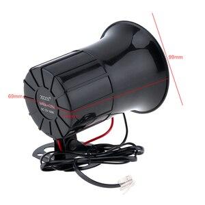 Image 2 - Haut parleur, corne sonore 100W 6 sons, pour voiture, voiture, véhicule, avertissement, sirène de Police, incendie, Ambulance, véhicule