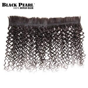 Image 3 - Mèches brésiliennes Remy naturelles bouclées pré colorées Black Pearl, Extensions de cheveux, pour tressage, lot de 1, promotion