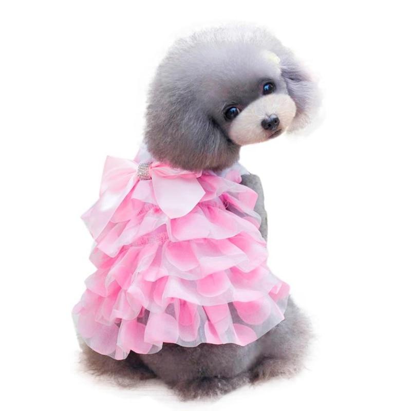 Dogbaby ropa para mascotas estilo coreano Adorable cachorro falda ...