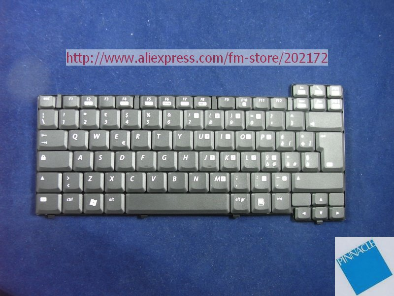 Used Look Like  New Black Laptop Notebook Keyboard 241428-061 229660-062 For Compaq Evo N600C N610C  series (Italy) new ru for lenovo u330p u330 russian laptop keyboard with case palmrest touchpad black