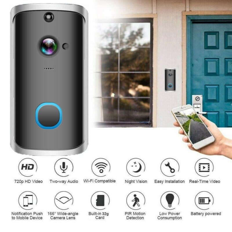 Wireless/Wifi Smart IP Villa Video Door Phone Intercom Doorbell Entry System