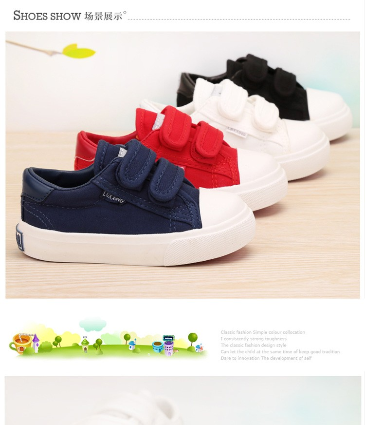 Beautiful Baby Girl and Boy White Canvas Shoes 6 Colors kids Casual Shoes Flat and Durable Toddler Little Girl Sneakers 5