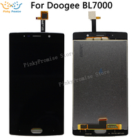 For Doogee BL7000 LCD Display+Touch Screen 100% Original LCD Digitizer Glass Panel Replacement For Doogee BL7000( short cable )