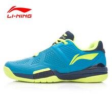 Li-ning uomini tennis professionale shoes traspirante anti-sdrucciolevole resistente shock-assorbente sneakers sport shoes atak005 xyw005(China (Mainland))
