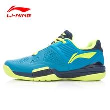 Ударно-абсорбент анти-скользкой износостойкой li-ning теннисные туфли профессиональные дышащий спортивная кроссовки обувь