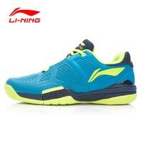 LI NING Men Professional Tennis Shoes Breathable Anti Slippery Hard Wearing Shock Absorbant Sneakers Sport Shoes