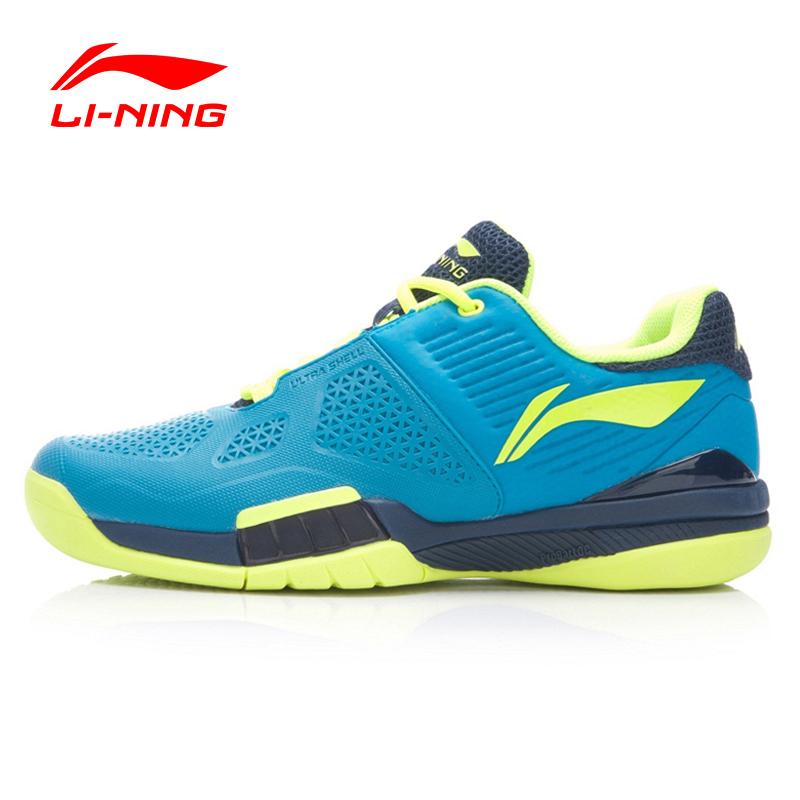 Prix pour Li-ning hommes professionnel de tennis shoes respirant anti-glissante résistant à l'usure choc-absorbant sneakers sport shoes atak005 xyw005