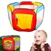 1PC Funny Children Kids Play House Indoor Outdoor Easy Folding Ball Pit Hideaway Tent Furniture Home