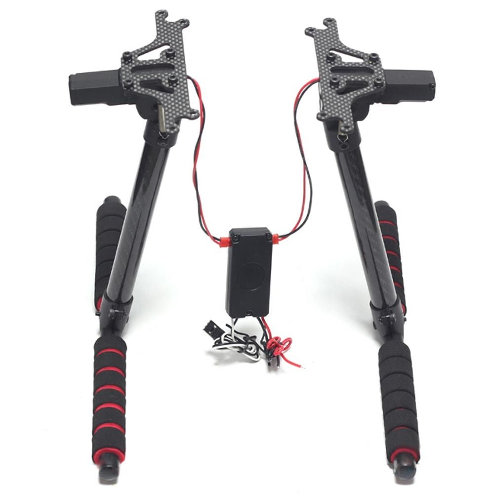 NEW Electric Retractable Landing Skid Gear Kit for F450/Phantom/FPV for lenovo g550 original laptop motherboard la 5082p n10m gs2 s a2 video card gm45 fully tested work perfect