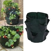 Potato Planting PE Bags Cultivation Garden Pots Planters Vegetable Planting Bags Grow Bags Farm Home Garden Supplies Nov