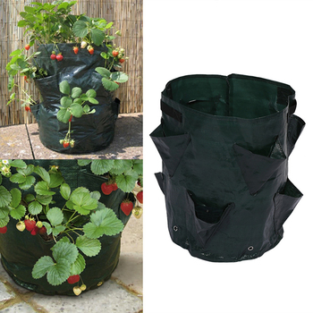 Potato Planting PE Bags Cultivation Garden Pots Planters Vegetable Planting Bags Grow Bags Farm Home Garden Supplies Nov