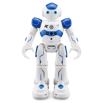 цена на Programmable Robot Toys For Kids Boy With Intelligence Diy Remote Control Robot Robotics Kits Programmer Programmable-Robot-Kit
