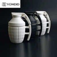 Creativa Granada tazas de café práctico taza de agua con tapa Regalos divertidos Granada creativa taza de café