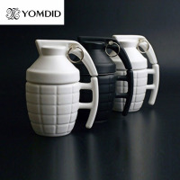 Creative Grenade Coffee Mugs Practical Water Bottle With Lid Funny Gifts Granada Creativa Taza De Cafe