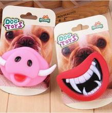 Halloween Pet Toy Squeak Toys for Pet Dog Teeth Emulsion Toy Chew Sound Dogs Play Toys