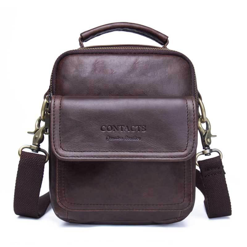 2b5433cab892 ... мужские сумки · MVA 100% натуральная кожа мужская сумка на плечо для  модного дизайна мужская сумка из мягкой