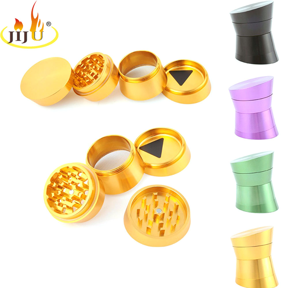 JIJU High Quality Metal Tobacco Grinder Creative Hand Spinner Grinder - Household Merchandises - Photo 1
