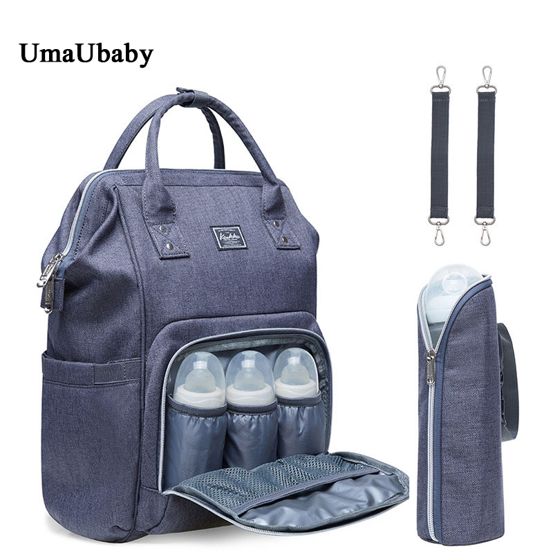 Mummy Bag Double Shoulder Bag Female  New Fashion Multi-function Large Capacity Baby Outdoor Mother & Child Bag Zipper NylonMummy Bag Double Shoulder Bag Female  New Fashion Multi-function Large Capacity Baby Outdoor Mother & Child Bag Zipper Nylon