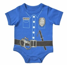 Short Sleeve Fireman Bodysuit