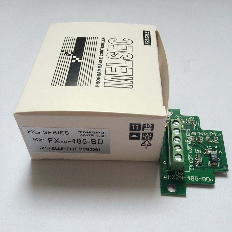 1PC Neu Mitsubishi PLC communication extended board FX1N-485-BD