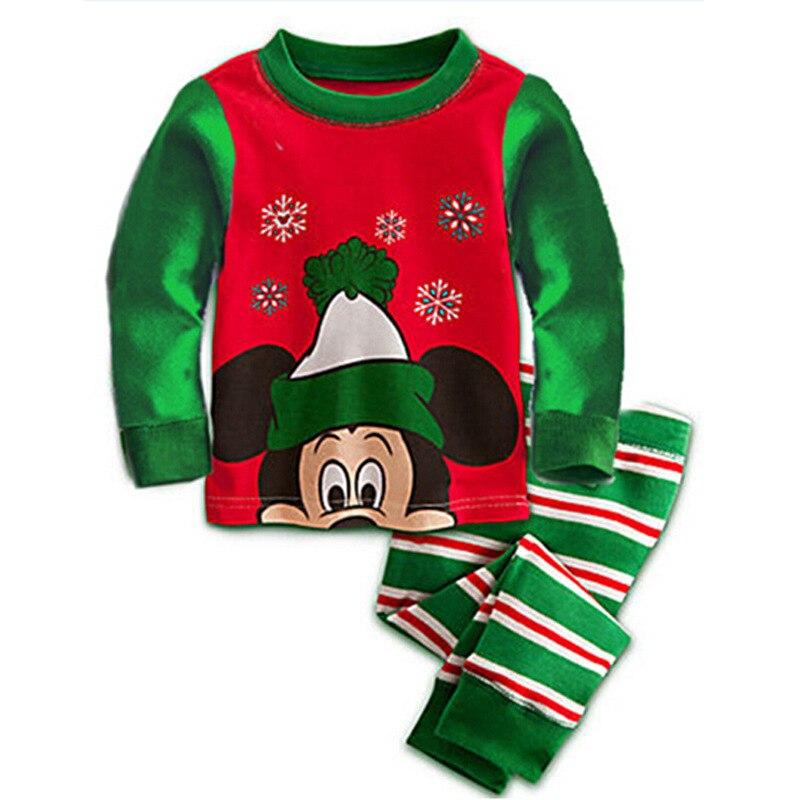 Retail! long sleeve kids pajamas winter warm thicken