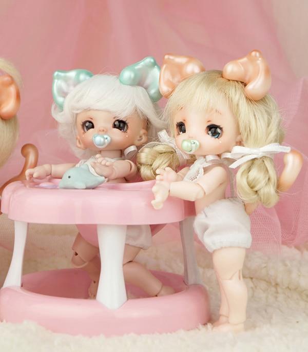 BJD 1/12 modelo de bebé muñeca Palma bjd ojos libres envío gratis muñecas lindas-in Muñecas from Juguetes y pasatiempos    1