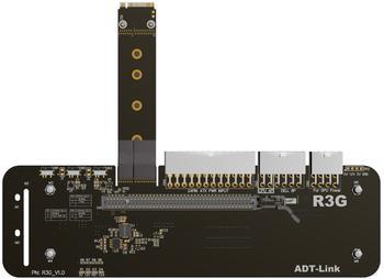 M.2 NVMe الخارجية بطاقة جرافيكس M مفتاح دعامة حامل مع PCIe3.0 x4 الناهض كابل 25 سنتيمتر 50 سنتيمتر 32Gbs ل ITX STX NUC VEGA64 GTX1080ti