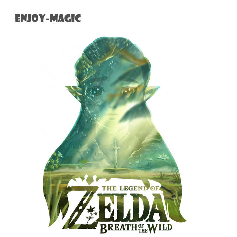Game The Legend of Zelda Breath of The Wild Art Silk Fabric Poster 45X63 Cm  New Game Pictures for Living Room Wall Decor 6
