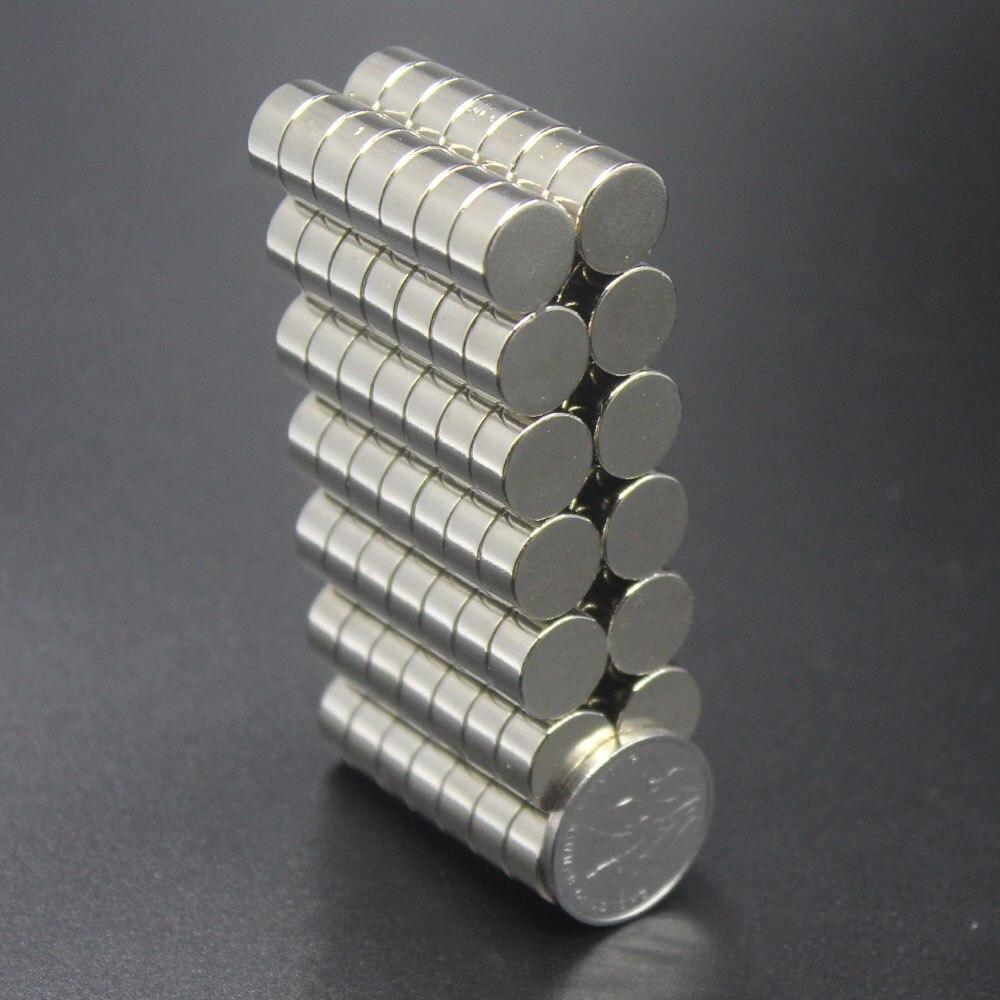 10/20/50/100pcs 10x5 Magnet 10mm X 5mm Super Strong Sticking Neo Neodymium D10x5 Magnets N35 10*5mm Permanent Magnet 10*5