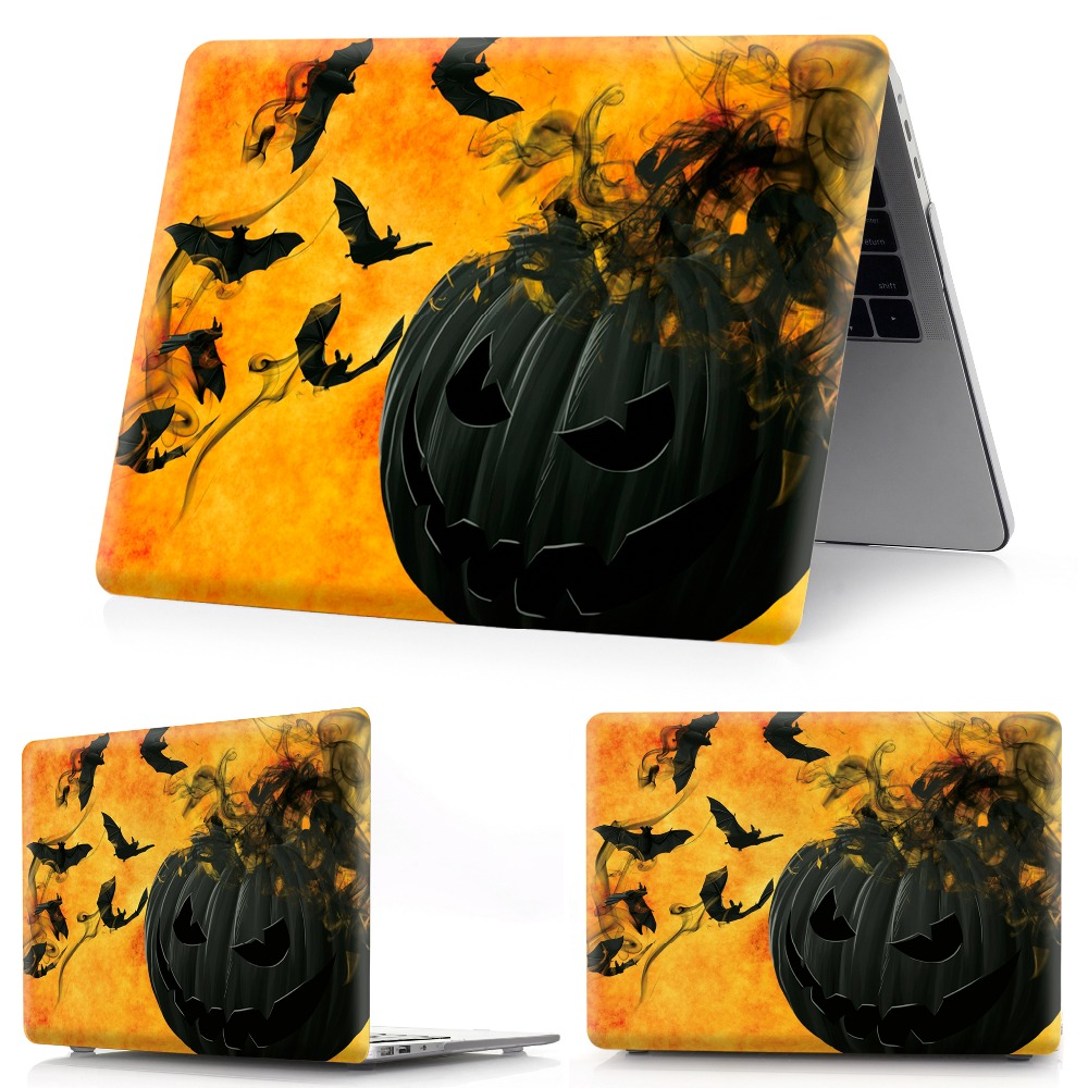 Image 2 - color printing Halloween notebook case for Macbook Air 11 13 Pro Retina 12 13 15 inch Colors Touch BarNew Pro 13 15 New Air 13-in Laptop Bags & Cases from Computer & Office
