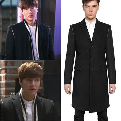 Hot ! The Same Paragraph Korean Lee Min Ho Lee Min-ho In The Winter Edition Mens Woolen Jacket Zipper Free Shipping / M-xxxl