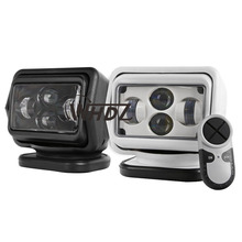 1pc 7″ 60W Led Remote control Searchlight 7inch Spot LED Work searching Light for TRUCK SUV BOAT MARINE Remote control light